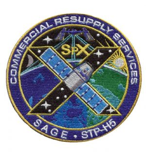 SpaceX's SPX-10 Commercial Resupply Service Patch